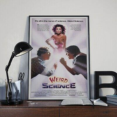 Weird Science Classic 80's ComedyMovie Film Poster Print Picture A3 A4