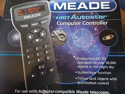 Meade 497 Autostar Computer Controller For ETX, New In Box Free Shipping