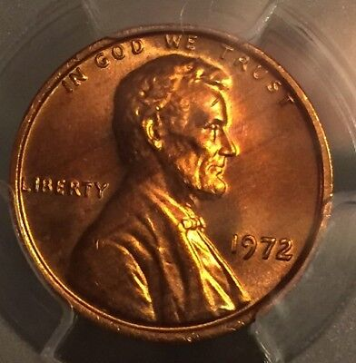 1972 Lincoln Cent Cherry Pickers Variety DDO FS 103 PCGS MS 66 RD! RARE EDS!!!