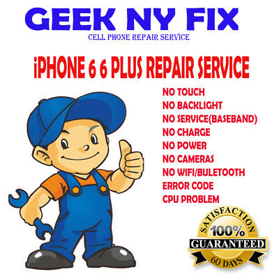 Repair Service For Iphone 6 Plus Touch IC Disease, no touch and grey bars,READ