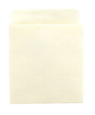 Hygloss Deep Low Back Manila Library Pockets, Self-Adhesive, 500-Pack