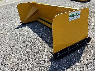 5' Low Pro snow pusher box FREE SHIPPING skid steer Bobcat Case Caterpillar