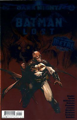 BATMAN LOST #1 (METAL) with a foil stamped cover - DC - US-COMIC -ENGLISCH- D466