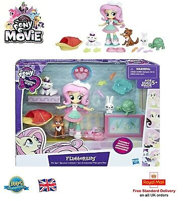 MY LITTLE PONY EQUESTRIA GIRLS FLUTTERSHY Play Set Girls Toy Flutter Shy B9495