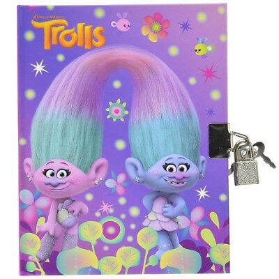 Journal intime Les Trolls carnet secret Disney Jumeau