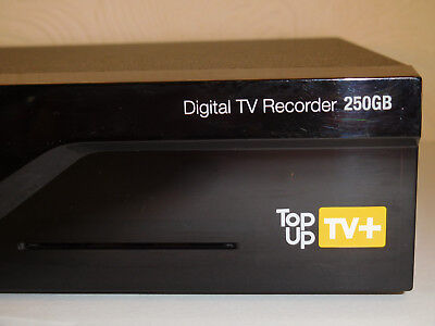 Thomson Top Up TV+ Box Freeview Digital TV Recorder, 250GB Hard Drive NO Remote