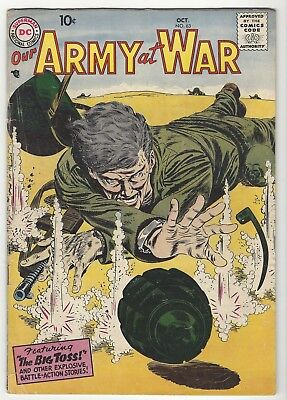 Our Army at War #63 VG