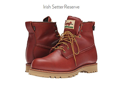NIB Irish Setter Reserve 4805 Mens Boots Shoes Made In USA All Size