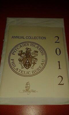 Pitcairn postfrisch kompletter Jahrgang 2012 Annual Collection