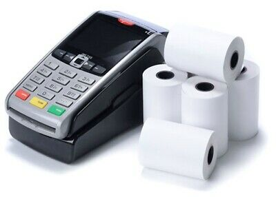 Thermal Paper Receipt Till Rolls 57mm x 40mm 20 ROLLS CARD TERMINAL ROLL