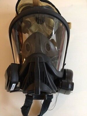 MSA Ultra Elite Full Face Mask Respirator with -HUD & Voice Amplifier Large