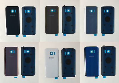 Replacement NEW Samsung Galaxy S7 G930F Rear Back Battery Cover + Adhesive