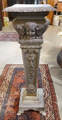 Beautiful Late 19th Century Antique French Pedestal/ Plant Stand