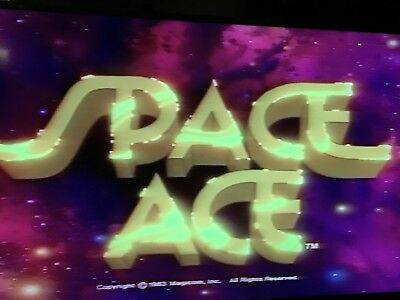 LD Laserdisc Game Space Ace pre serial pressing / LD Spiel LaserActive