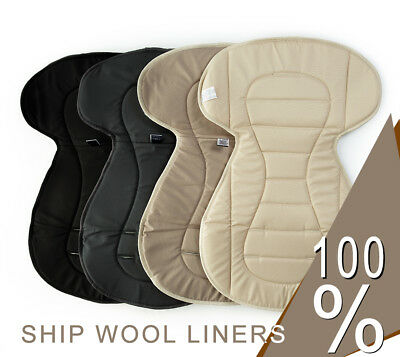 SHEEP WOOL LINER for buggy,swing,car seat