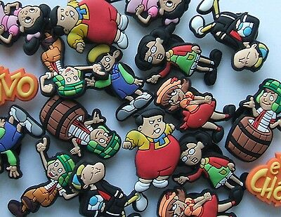 SHOE CHARMS (R4) - inspired by EL CHAVO