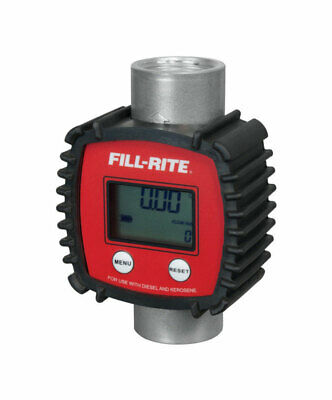 Full-Rite In-Line Digital Meter 145 PSI / 3-26 GPM 6.625 in. W x 2.875 in. L