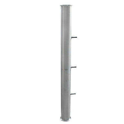 "HFS(R) 4""x48"" Flow Sanitary HIGH GRADE Stainless STEEL 304 PIPE, LENGTH 48"""