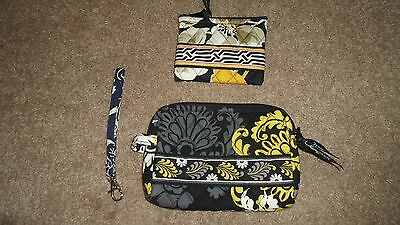 Vera Bradley~Lot of 3~coin, makeup and landyard