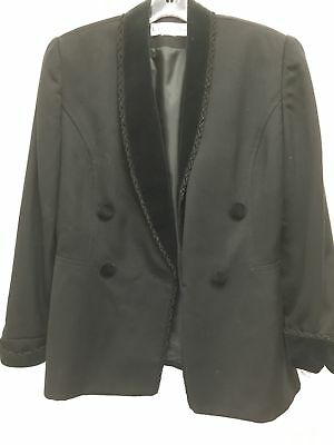 Christian Dior Black Blazer Women's Size 10