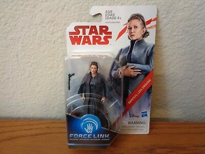 "General Leia Organa Star Wars The Last Jedi 3.75"" Action FIgure * In Hand"