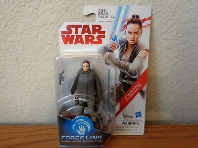 "Rey Island Journey Star Wars The Last Jedi 3.75"" Action FIgure * In Hand"