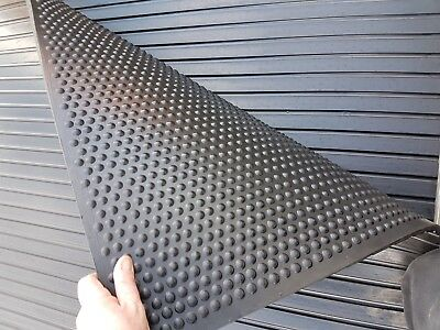 "Horse Stable Rubber Floor Mat Matting 17mm, 6ft x 4ft ""NEW"" Dairys Farms Washbay"