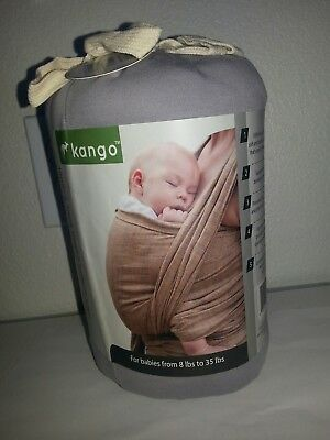 KANGO wrap 100% natural cotton baby carrier from 8 lbs to 35 lbs NEW
