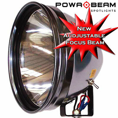 "Powa beam PRO-9 HID 70w Professional Roof Mounted Powabeam 9"" Hunting Spot Light"