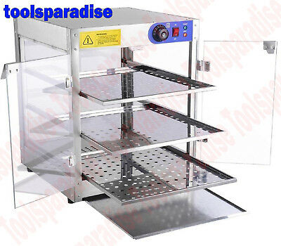 Convenience Store HOT FOOD Merchandiser Display Case STAINLESS STEEL