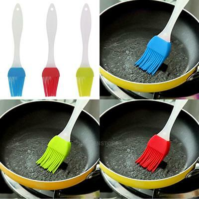 Silicone Cake Oil Brush BBQ Camping Butter Heat Resistant Kitchen Ware Home Tool