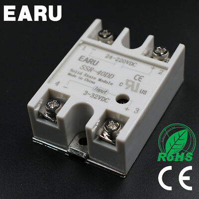 SSR-40DD 40A SSR Solid State Relay & Top/Cover(UK STOCK)