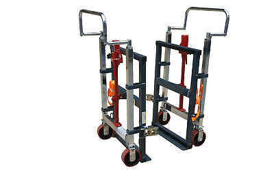 Pake Handling Tools - Hydraulic Furniture Mover Set, 3960 lbs Capacity(Set of 2)