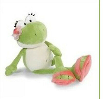 35cm Plush Nici Lilly Green Frog Long Plush Toy New