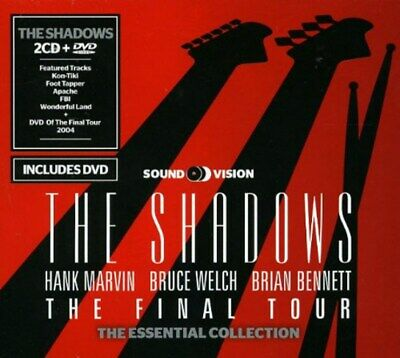 The Final Tour - The Shadows (Album with DVD) [CD]
