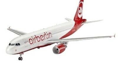 Revell Model Kit Aircraft Airbus A320 AirBerlin in the Scale Civil Aircraft