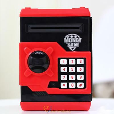 Password ATM Piggy Bank Cash Coin Note Machine Security Saving Money Box Gift UK
