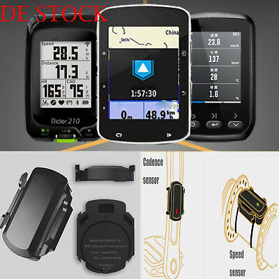 Magene Gemini 200 ANT+ Bluetooth Wireless Speed & Cadence Sensor für Garmin GPS