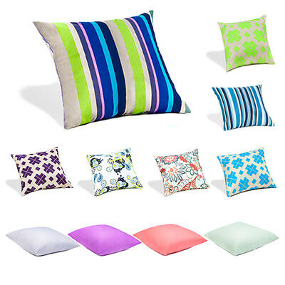 Outdoor Patio Garden Water Proof Cushions Ready Filled Pads Scatter Seat Bench