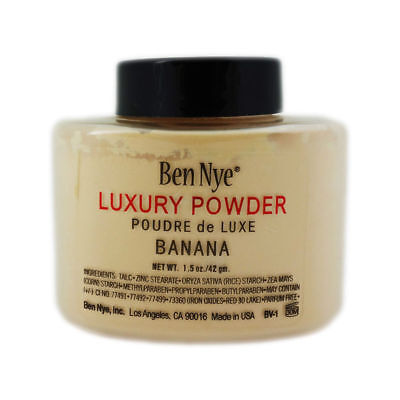 Ben Nye Luxury Banana Powder Puder 42gr. Beauty Make-Up *NEU & OVP*