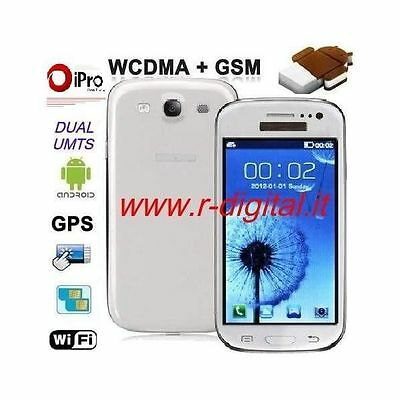 SMARTPHONE CELLULAIRE iPRO i9300 S3 ANDROID UMTS CAPACITIF DOUBLE SIM WIFI GPS