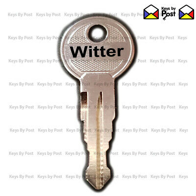Witter Detachable Towbar Key TR Series Keys Cut to Code (TR01 to TR10)