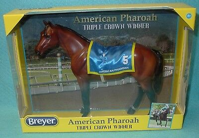 "Breyer Classic Awesome Bay ""american Pharoah"" Show Thoroughbred #9184 New 16-Now"