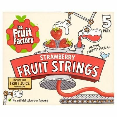 The Fruit Factory Strawberry Fruit Strings 100g