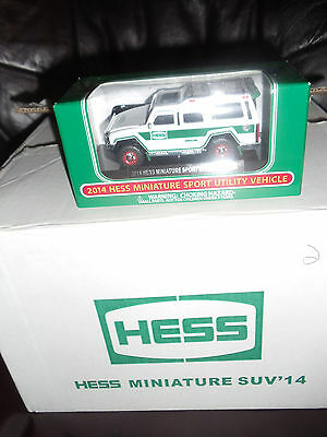 2014 MINI Hess Miniature Sport Utility Vehicle NEW FRESH FROM CASE NEW