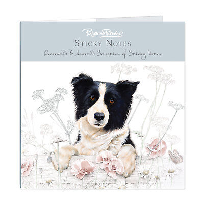 Border Collie Dog Stationery Sticky Notes Selection and Notepad Perfect Gift