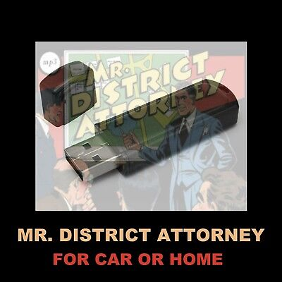 Mr District Attorney. Enjoy 83 Old Time Radio Shows While Driving Or At Home!
