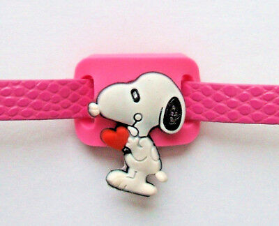 SHOE CHARM BRACELET - inspired by SNOOPY - Red