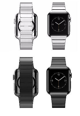 Stainless Steel Metal Watch Link Band Strap For Apple Watch 5 4 3 38/40/42/44mm