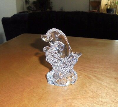 24% Lead Crystal Dolphin in Wave * Made in Taiwan